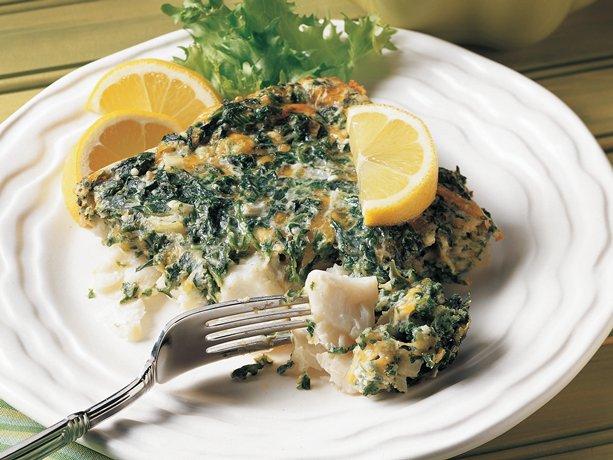 Fish Florentine