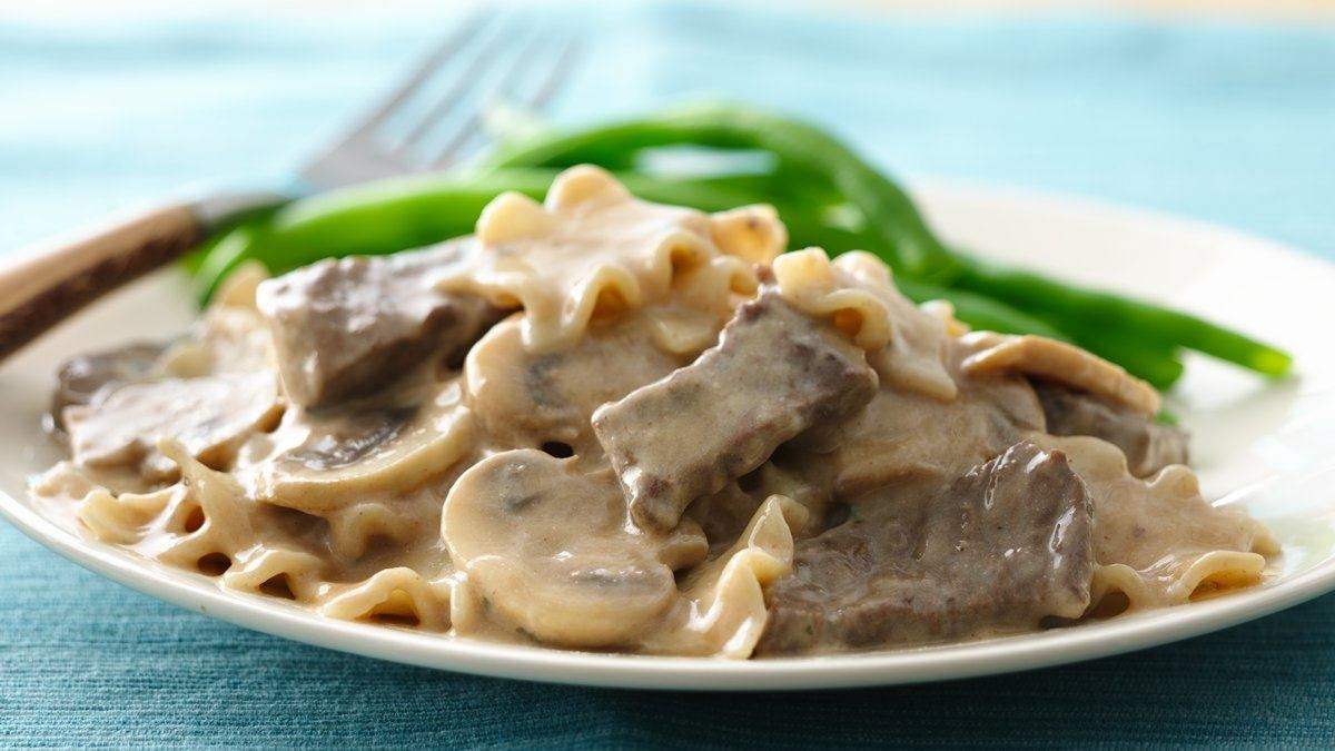 Easiest Ever Beef Stroganoff - Life Made Delicious
