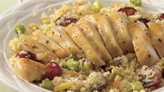 Couscous Salad with Honey-Mustard Chicken Recipe