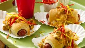 Nacho Chorizo Dogs Recipe