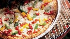 Grilled Peppers and Onions Pizza Recipe