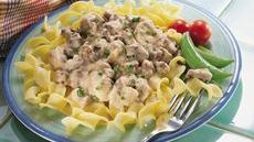Light and Easy Hamburger Stroganoff Recipe