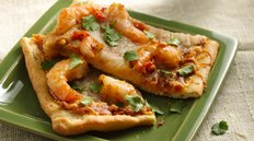 Thai Shrimp Pizza Recipe