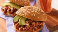 Chipotle Pulled-Pork Sandwiches
