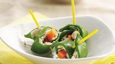 Pea Pod Roll-Ups Recipe