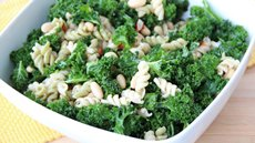Caesar Pasta Salad with Kale Recipe