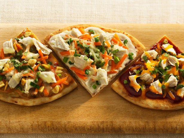 Spicy Grilled Thai Pizza