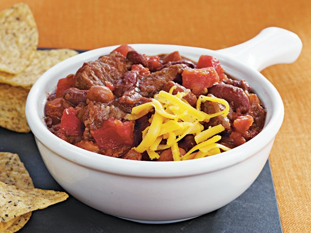 Slow Cooker Beef n Beer Chili