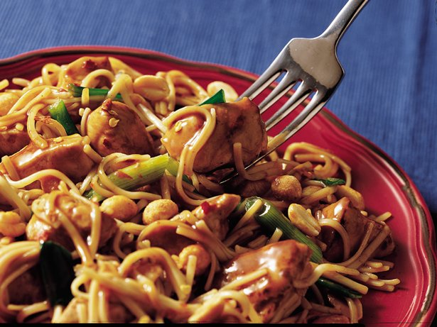 Kung Pao Noodles and Chicken
