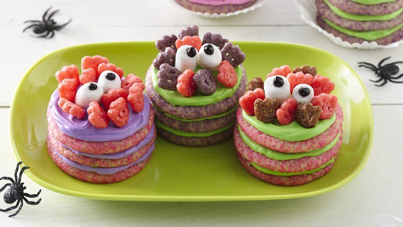 Monster Cookie Stacks