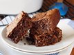 Loaded German Chocolate Cake Mix Brownies