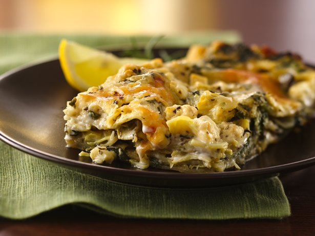 Artichoke-Spinach Lasagna