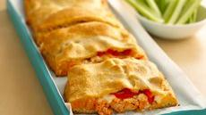 Big & Tasty Buffalo Chicken-Stuffed Pie Recipe