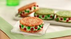 Holiday Ice Cream Sandwiches Recipe