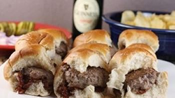St. Patty's Sliders