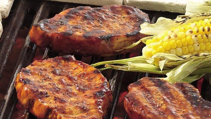 Hoisin Glazed Pork Chops recipe - from Tablespoon!