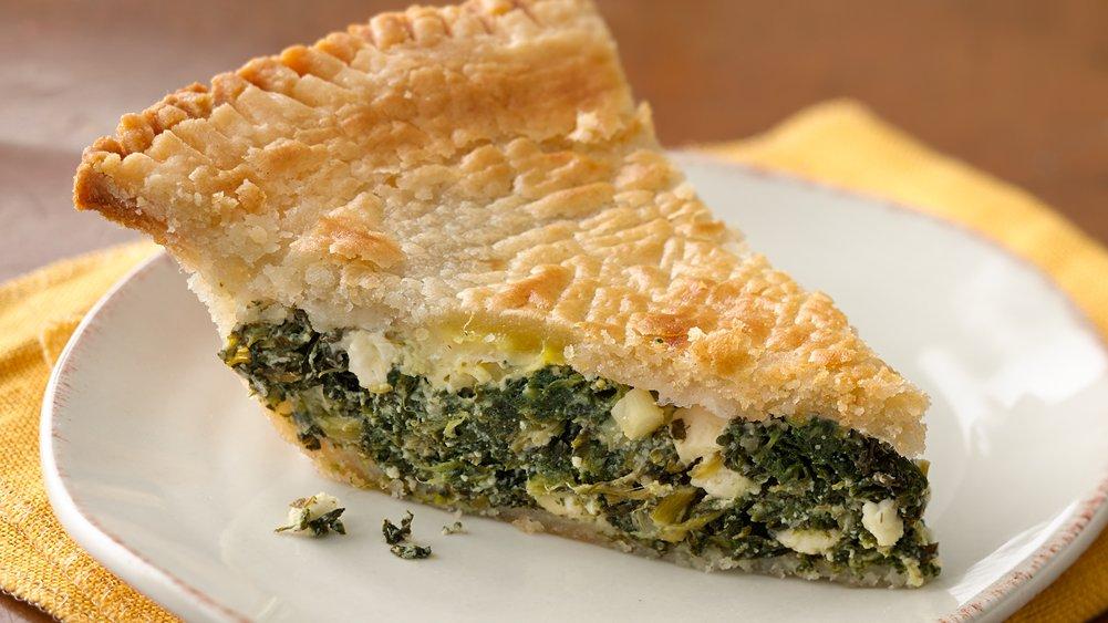 Simple Spanakopita Pie recipe from Pillsbury.com