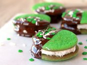 Chocolate-Mint Cookie Bites