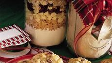 Cranberry-White Chip-Oatmeal Cookie Mix Recipe