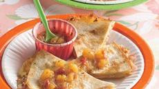 Hawaiian Appetizer Quesadillas Recipe