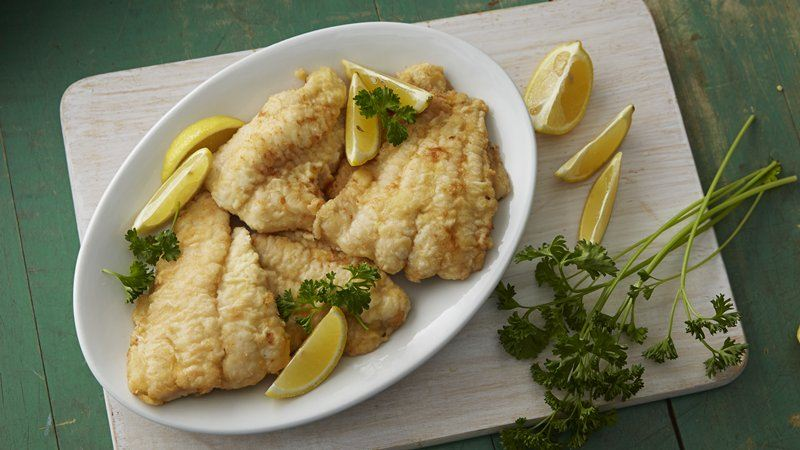 Panfried Fish Fillets