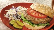 Garlicky Turkey Burgers Recipe
