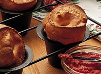 Simple Popovers (lighter recipe)