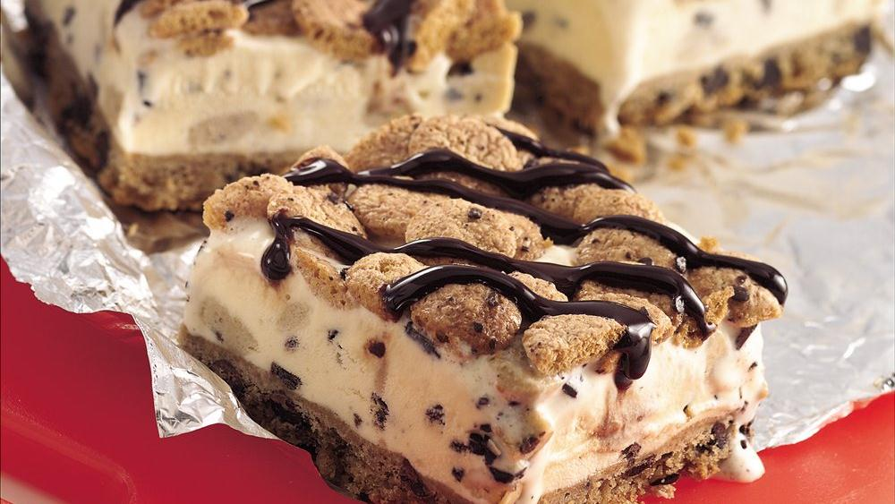 Cookie Dough Ice Cream Dessert recipe from Pillsbury.com