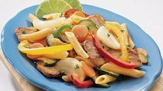 Fajita Pork and Pasta Recipe