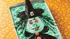 Scary Witch Cake Recipe