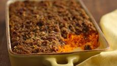 Carrot Soufflé with Pecan Topping Recipe