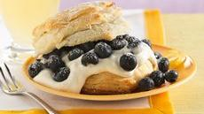 Lemon-Blueberry Shortcakes Recipe