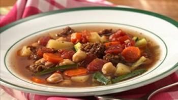 Slow Cooker Easy Italian Sausage-Vegetable Soup