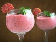 Strawberry-Rhubarb Slush recipe from Betty Crocker