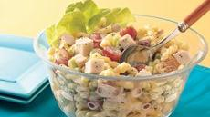 Chicken Pasta Salad with Poppy Seed Dressing Recipe