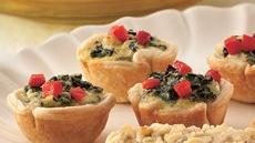 Cheesy Spinach Tartlets Recipe