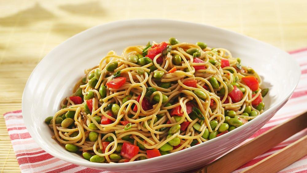 Lo Mein Noodle Salad