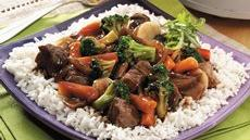 Slow-Cooked Chop Suey over Rice Recipe