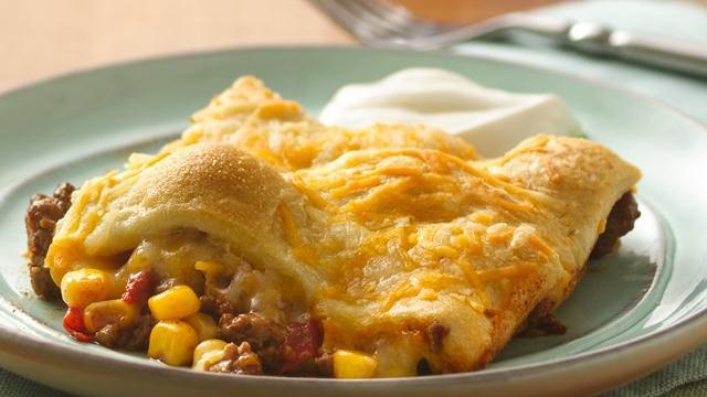 Mexican Casserole recipe from Pillsbury.com