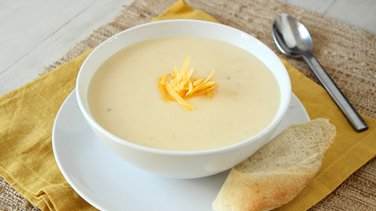 10-Minute Beer Cheese Soup
