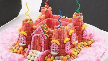 Princess Castle Bundt Cake