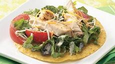 Southwestern Chicken Tostada Salad Recipe