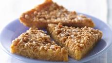 Vanilla-Malt-Toffee Triangles with Sea Salt Recipe