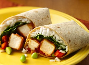 Sweet&#32;&amp;&#32;Sour&#32;Chicken&#32;Wraps