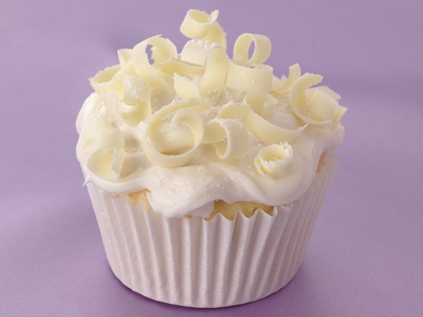 White On White Wedding Cupcakes