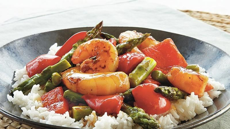 Stir-Fry Shrimp