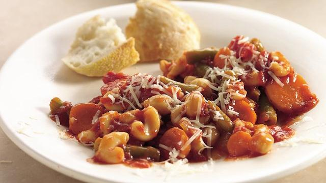 Slow Cooker Mediterranean Minestrone Casserole