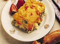 Baked Vegetable Omelet