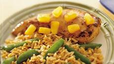 Asian Chicken and Brown Rice Recipe