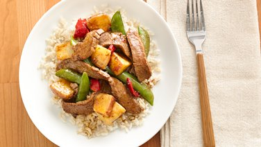 Gina's Beef-Vegetable Stir-Fry Medley